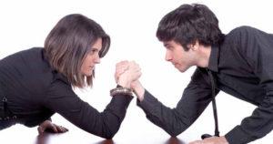 Manipulácia = boj o moc.