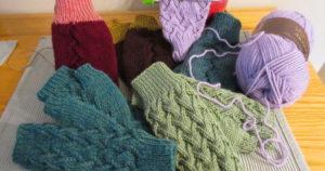 Pletenie nám pomôže dostať sa do stavu relaxácie (obr. http://tarotbythom.com/)