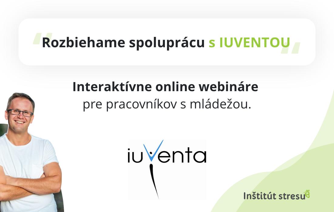 online webinare IUVENTA Institut stresu
